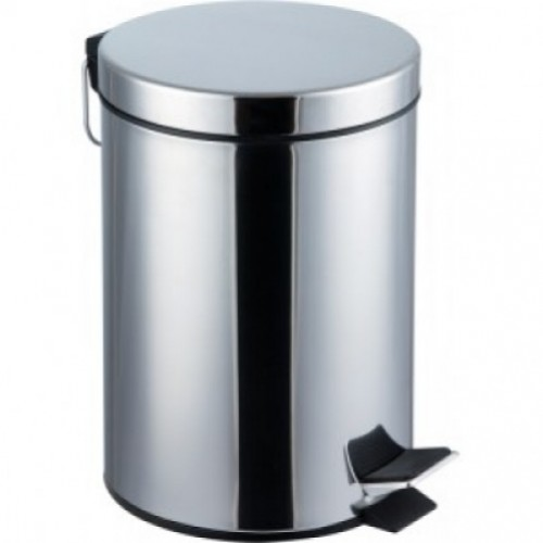 Coș de gunoi cu pedală,20 litri, inox
