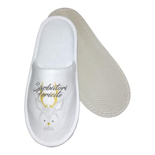 Papuci cu motiv de Sărbători