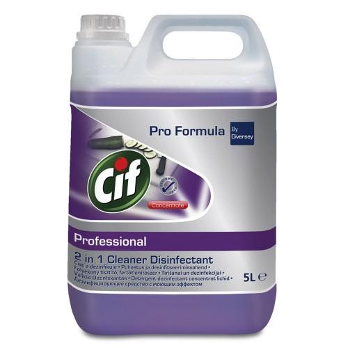 Dezinfectant lichid 2in1 Cif Professional, 5L