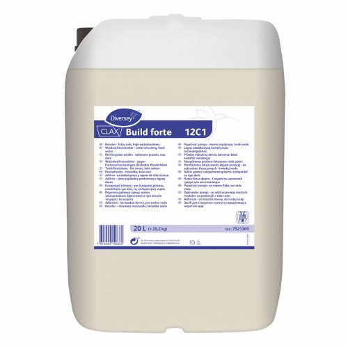 Aditiv alcalin pentru spalarea tesaturilor Clax Build Forte 20L