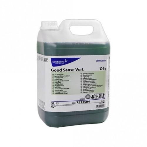 Detergent/Dezodorizant Concentrat Pardoseli Good Sense Vert 5L