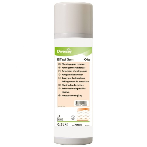 Detergent profesional Spray curatare guma mestecat 0,5L