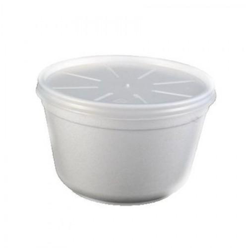 Bol Supa cu capac termorezistent , 16 oz , 100buc