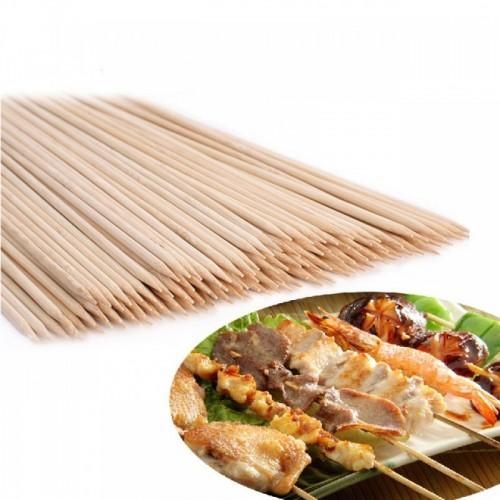 Bete Din Lemn De Bambus Pentru Frigarui 20cm , 100buc/set