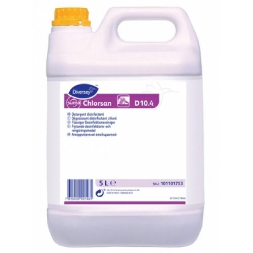 Detergent dezinfectant lichid, Suma Chlorsan D10.4