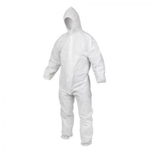 Combinezon protectie TNT (netesut), alb, L/XL